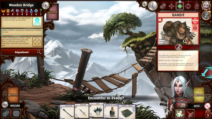 Pathfinder Adventures Gameplay